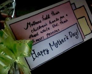 Happy Mother's Day by me (Reta Riayu Putri)