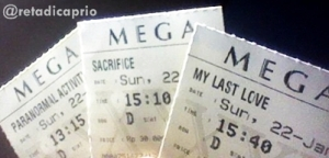 Paranormal Activity 3, Sacrifice, and my Last Love (Retariayu's a.k.a @retadicaprio)