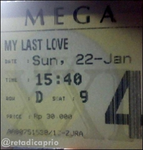 Ticket of My Last Love