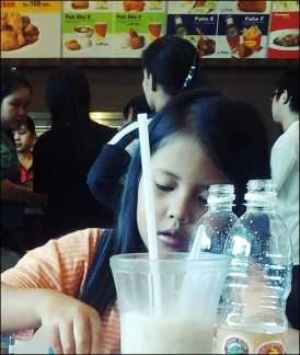 My little sister (posted by Reta Riayu Putri)