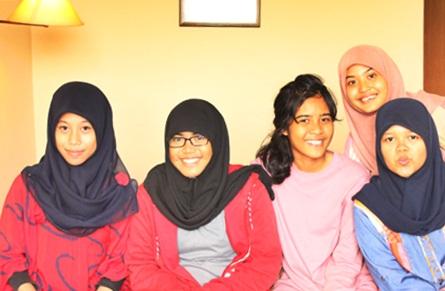 Mila Baarik Iman Sari, Aulia Riski Molanda, Chantika Karina, Rama Fitria Revoni, Hania Rizkieta Hazah